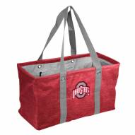 Ohio State Buckeyes Crosshatch Picnic Caddy