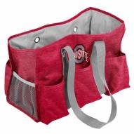 Ohio State Buckeyes Crosshatch Weekend Bag