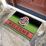 Ohio State Buckeyes Crumb Rubber Door Mat