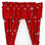 Ohio State Buckeyes Curtains