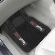 Ohio State Buckeyes Deluxe Car Floor Mat Set