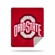 Ohio State Buckeyes Denali Sliver Knit Throw Blanket