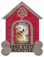 Ohio State Buckeyes Dog Bone House Clip Frame