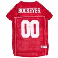 Ohio State Buckeyes Dog Football Jersey