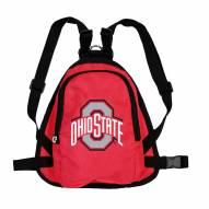 Ohio State Buckeyes Dog Mini Backpack