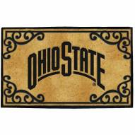 Ohio State Buckeyes Door Mat