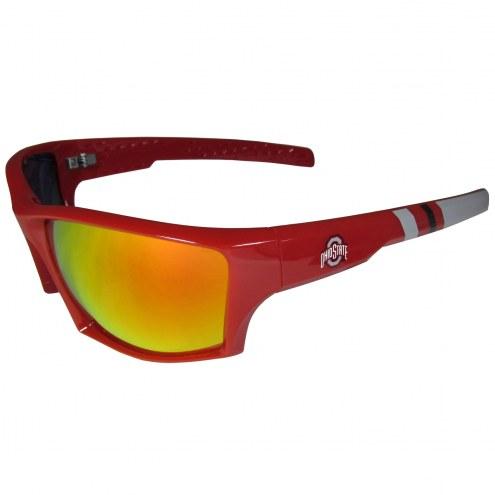 Ohio State Buckeyes Edge Wrap Sunglasses