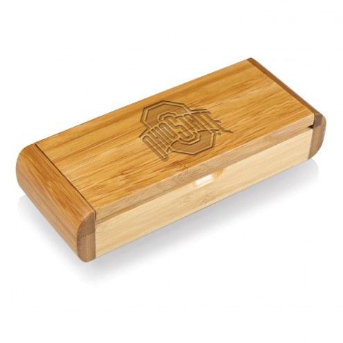 Ohio State Buckeyes Elan-Bamboo Corkscrew