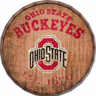 "Ohio State Buckeyes Established Date 16"" Barrel Top"