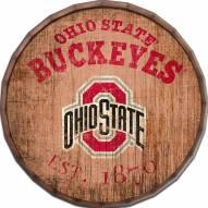 "Ohio State Buckeyes Established Date 24"" Barrel Top"