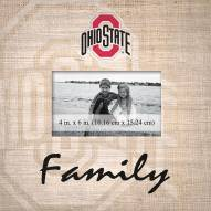 Ohio State Buckeyes Family Picture Frame