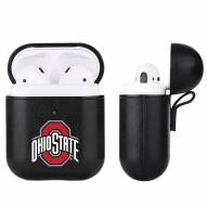Ohio State Buckeyes Fan Brander Apple Air Pods Leather Case