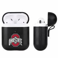 Ohio State Buckeyes Fan Brander Apple Air Pods Leather Case