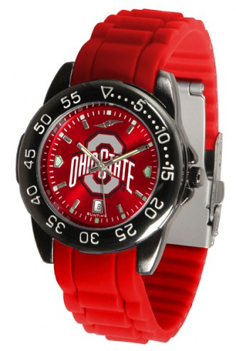 Ohio State Buckeyes Fantom Sport Silicone Men's Watch