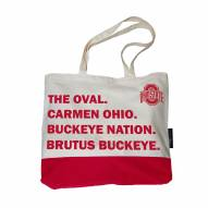 Ohio State Buckeyes Favorite Things Tote