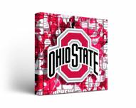 Ohio State Buckeyes Fight Song Canvas Wall Art