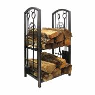 Ohio State Buckeyes Fireplace Wood Holder & Tool Set
