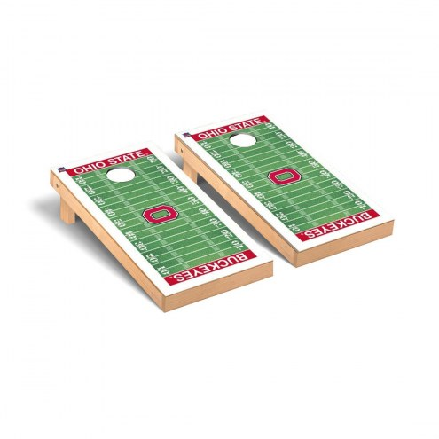 Ohio State Buckeyes Football Field Cornhole Game Set
