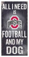 Ohio State Buckeyes Football & My Dog Sign