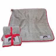 Ohio State Buckeyes Frosty Fleece Blanket