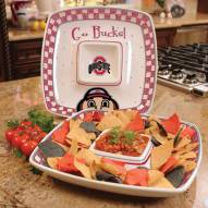Ohio State Buckeyes Gameday Chip N Dip Dish