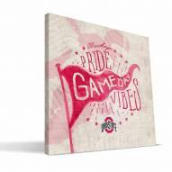 Ohio State Buckeyes Gameday Vibes Canvas Print