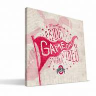Ohio State Buckeyes Gameday Vibes Canvas Print