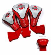 Ohio State Buckeyes Golf Headcovers - 3 Pack