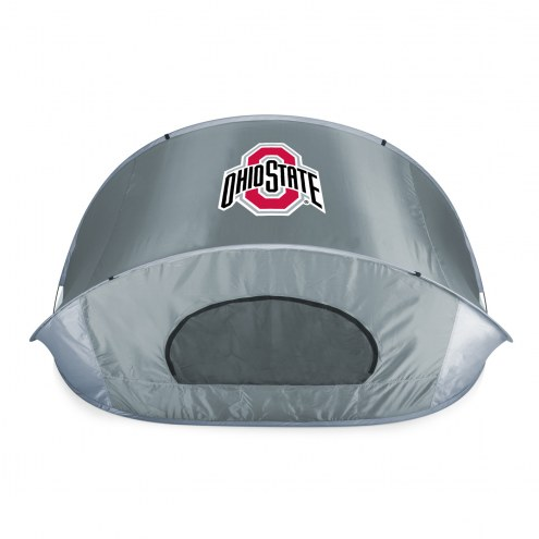 Ohio State Buckeyes Gray Manta Sun Shelter