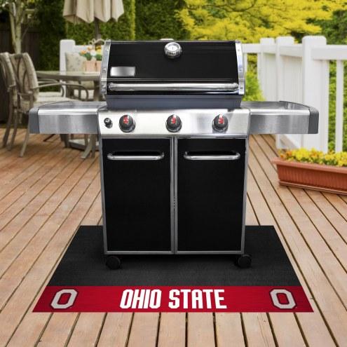 Ohio State Buckeyes Grill Mat
