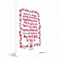 Ohio State Buckeyes Hand-Painted Song Canvas Print