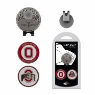 Ohio State Buckeyes Hat Clip & Marker Set