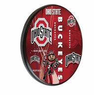 Ohio State Buckeyes Digitally Printed Wood Sign