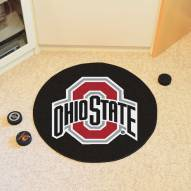 Ohio State Buckeyes Hockey Puck Mat