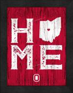 Ohio State Buckeyes Home Away From Home Wall Decor