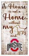Ohio State Buckeyes House is Not a Home Sign