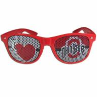Ohio State Buckeyes I Heart Game Day Shades