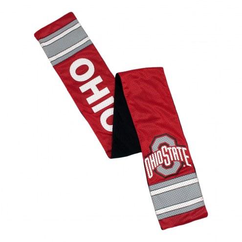 Ohio State Buckeyes Jersey Scarf
