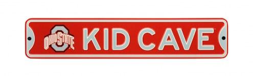 Ohio State Buckeyes Kid Cave Street Sign