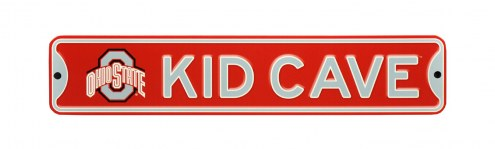 Ohio State Buckeyes Kid Cave Street Sign