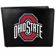Ohio State Buckeyes Large Logo Bi-fold Wallet