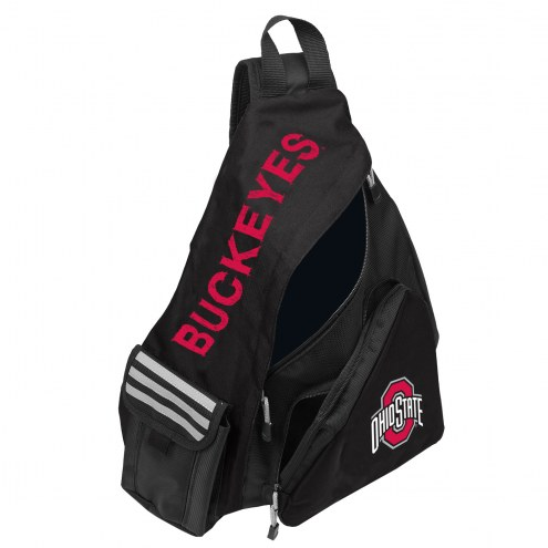 Ohio State Buckeyes Leadoff Sling Backpack