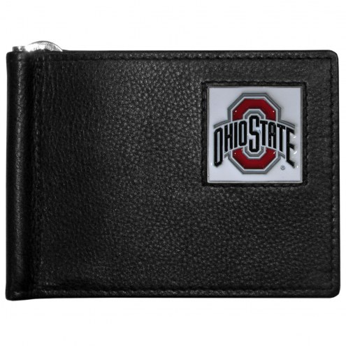 Ohio State Buckeyes Leather Bill Clip Wallet