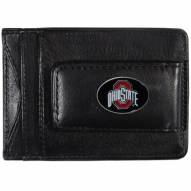 Ohio State Buckeyes Leather Cash & Cardholder