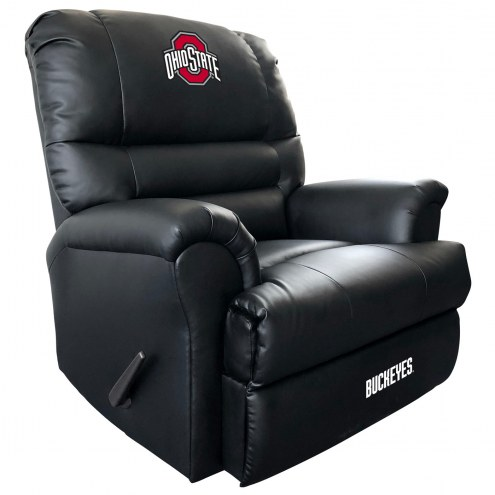 Ohio State Buckeyes Leather Sports Recliner