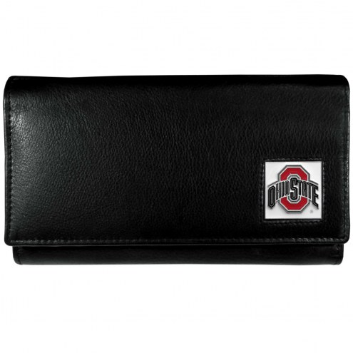 Ohio State Buckeyes Leather Women's Wallet