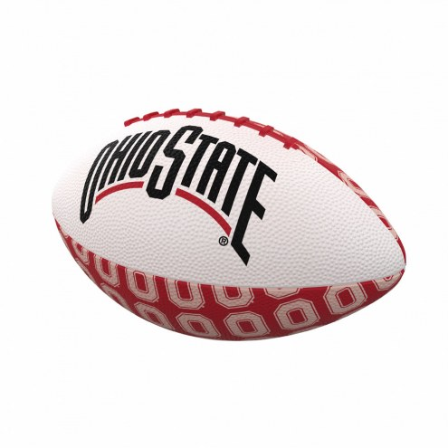 Ohio State Buckeyes Mini Rubber Football