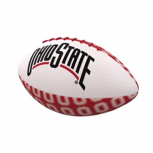 Ohio State Buckeyes Mini Rubber Football