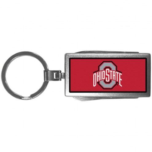 Ohio State Buckeyes Logo Multi-tool Key Chain