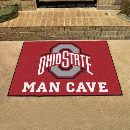 Ohio State Buckeyes Man Cave All-Star Rug